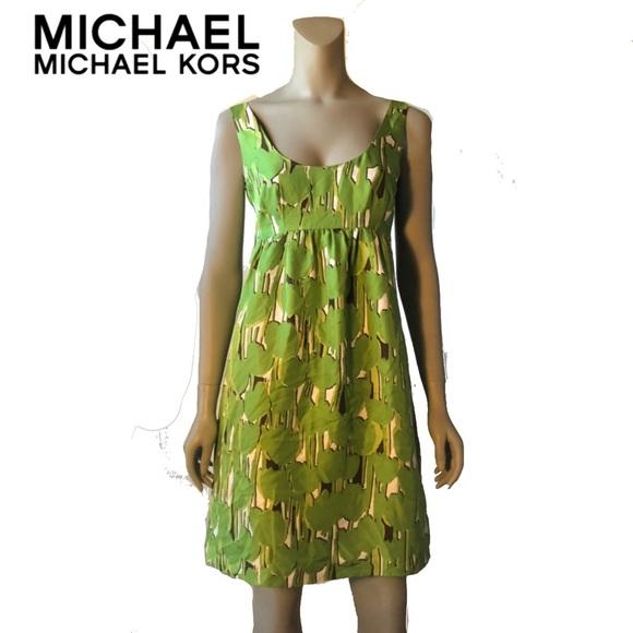 MICHAEL Michael Kors Dresses & Skirts - MICHAEL Michael Kors Silk Babydoll Resort Dress 6